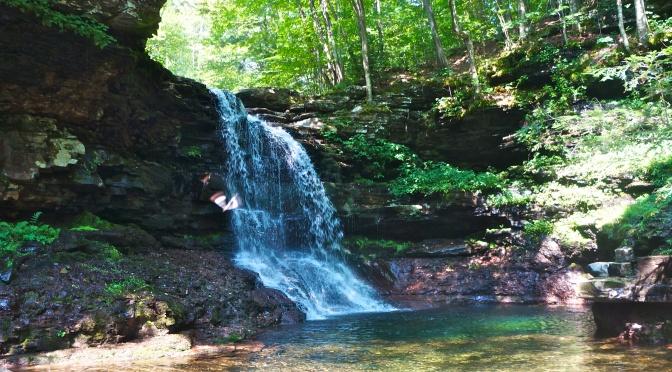Waterfall Wonderland of State Game Land 13