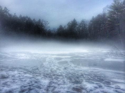 Lake Lenape fog