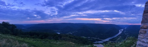 Hyner View State Park panorama
