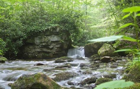 Clendenin Branch cascade