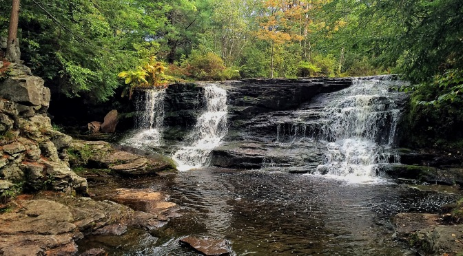 Pinchot Trail: Choke Creek and Choke Creek Falls